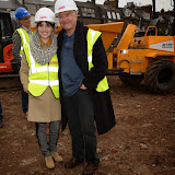 OIC - ENTSIMAGES.COM - Charlotte Riley and Martin Shaw at the   LAMDA West London campus launch London 12th February 2015