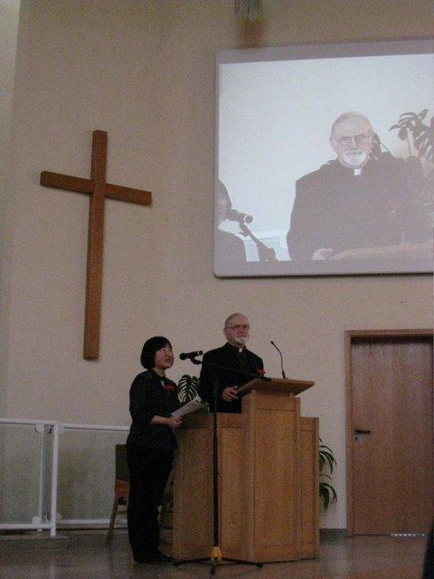 陈欣懿牧师夫妇就职典礼
