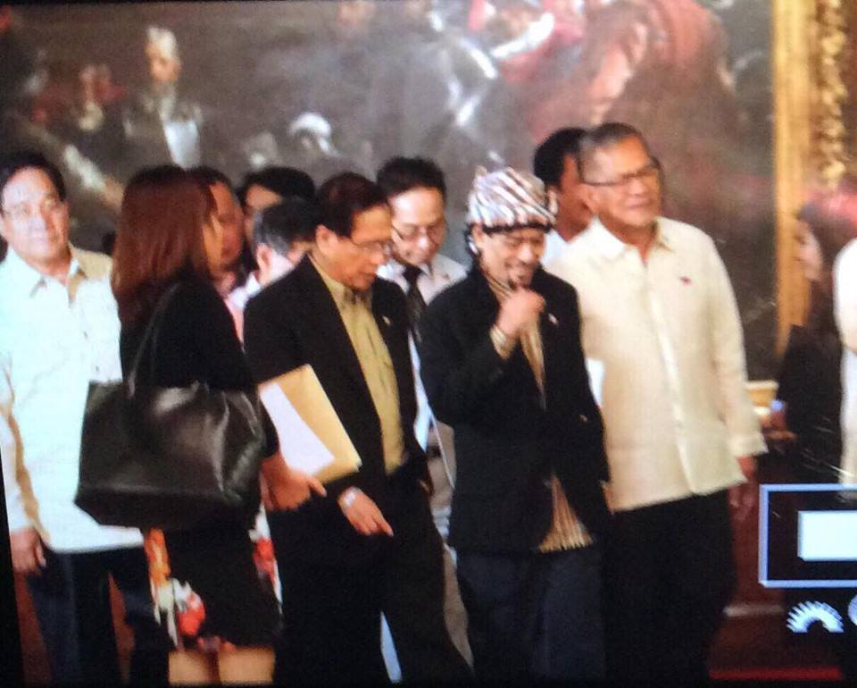 Image of Nur Misuari Headed to Malacañang