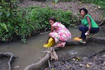 Užívání závadné vody navíc vede často k nákaze a silným infekčním průjmovým onemocněním, jež jsou třetí nejčastější příčinou úmrtí v DR Kongo. (Foto: Marcela Janáčková, ČvT)