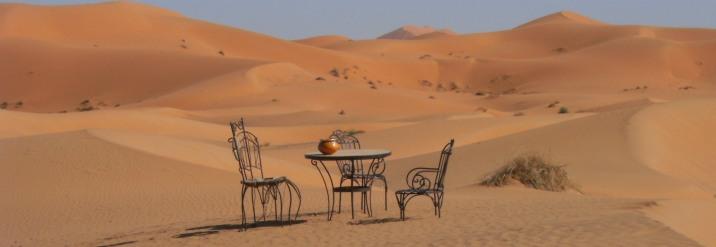 Sand-Dünen von Erg Chebbi, Tafilalet, Marokko