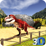Dinosaur Racing 3D Icon