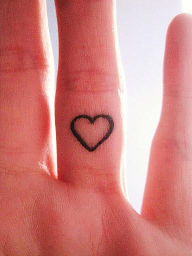 Finger tattoos