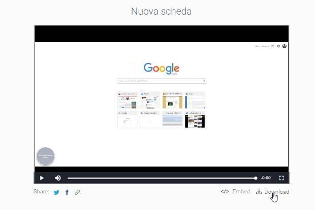 registrazione-openvid-opentest