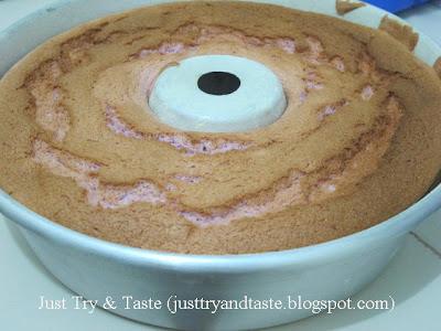 Resep Cake Sifon Talas: Gagal! JTT