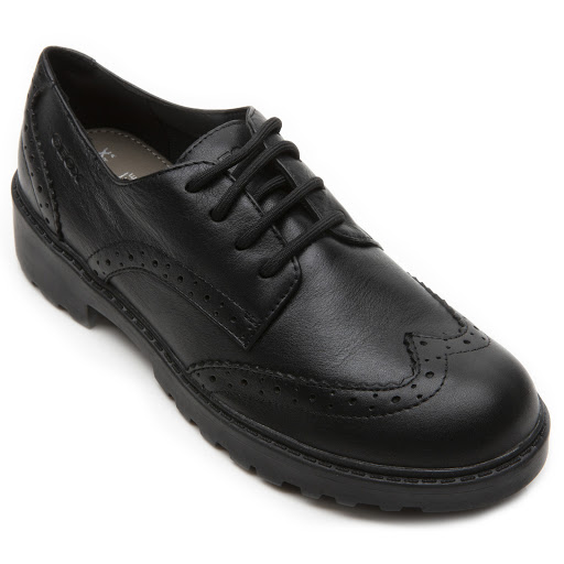 Thumbnail images of Geox J Casey Girl Shoe