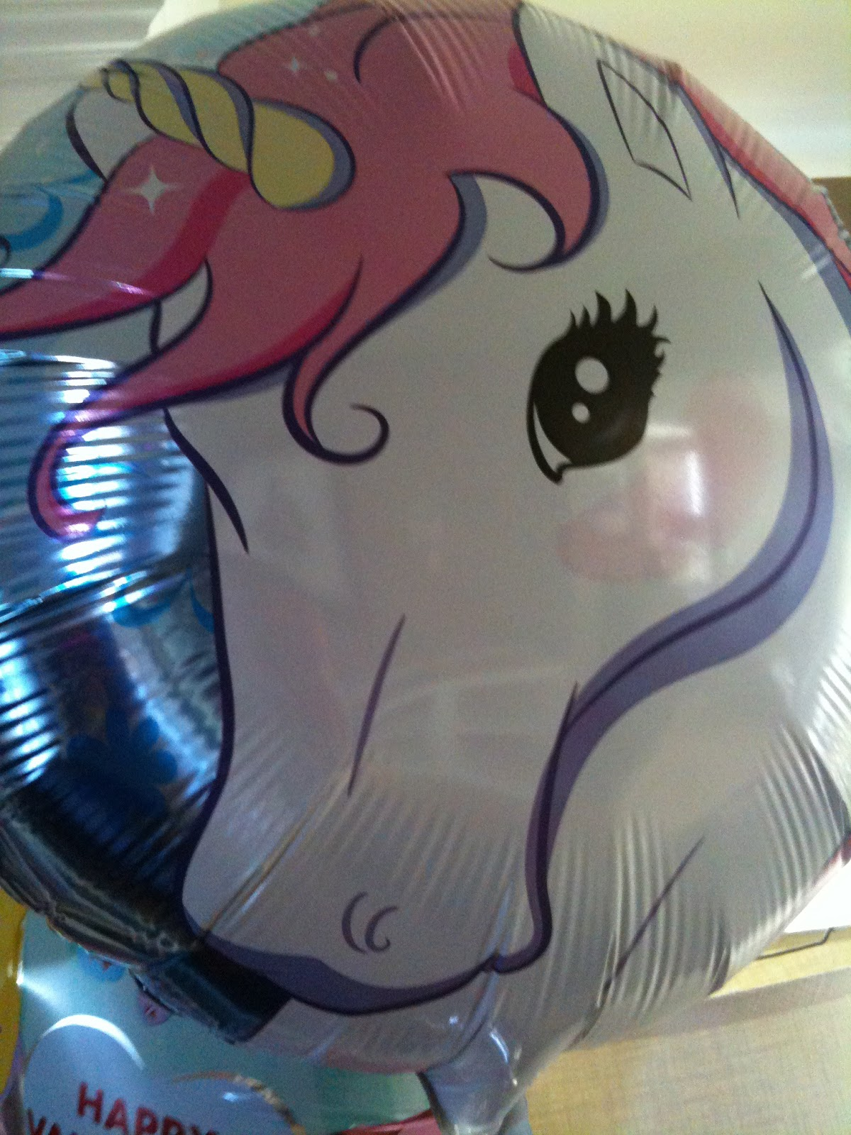 Happy Birdycake Unicorn Birthday Party