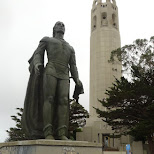 coit tower in San Francisco in San Francisco, California, United States