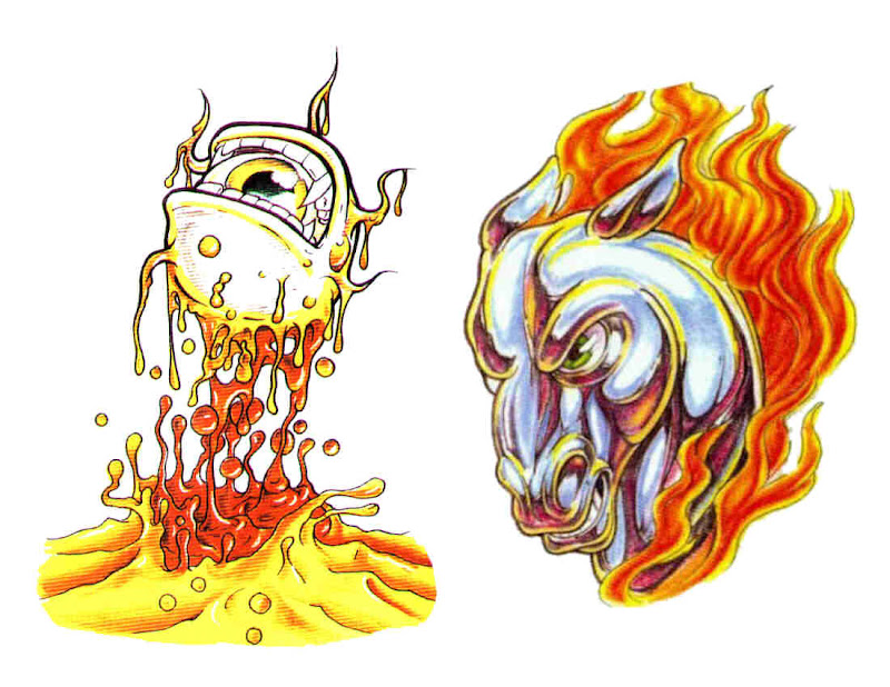 Design Of Horror Tattoo 6, Fantasy Tattoo Designs