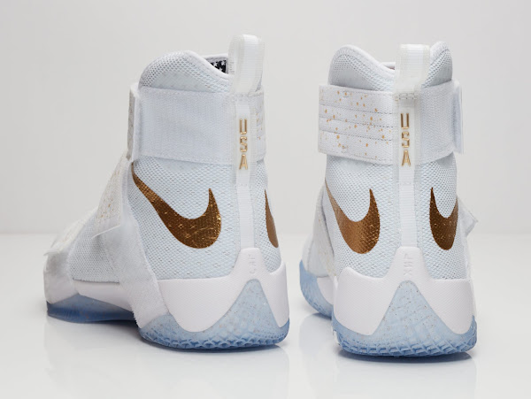 Available Now Nike LeBron Soldier 10 USA Gold