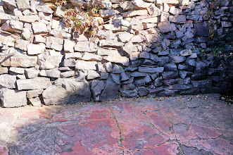 Photo: Though these grounds are not the only source of pipestone on the North American continent, by all accounts this location came to be the preferred source of pipestone among the Plains tribes because of the quality of the stone. Oral tradition tells us that the site was used by people of all tribes, and that all tribes - even enemies - laid down their arms before quarrying side by side. Archaeological evidence shows many different tribes quarried here. By 1700, the Dakota Sioux were the dominant presence at the pipestone quarries. (2016 photo)