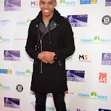 WWW.ENTSIMAGES.COM -     Joivan Wade - Mandem on The Wall    at         Nightrider 2015 - VIP launch party at Grange St Paul's Hotel, London November 4th 2014Charity bike ride launches its 2015 challenge. Main event takes place in June 2015                                               Photo Mobis Photos/OIC 0203 174 1069