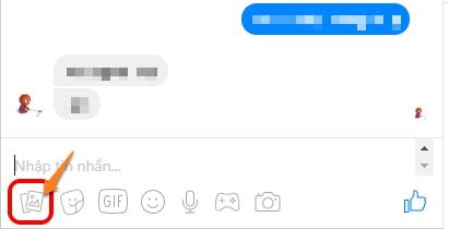 gửi file đính kèm trên facebook điện thoại
