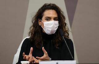 Após ida a CPI, Luana Araújo tem salto nas redes sociais