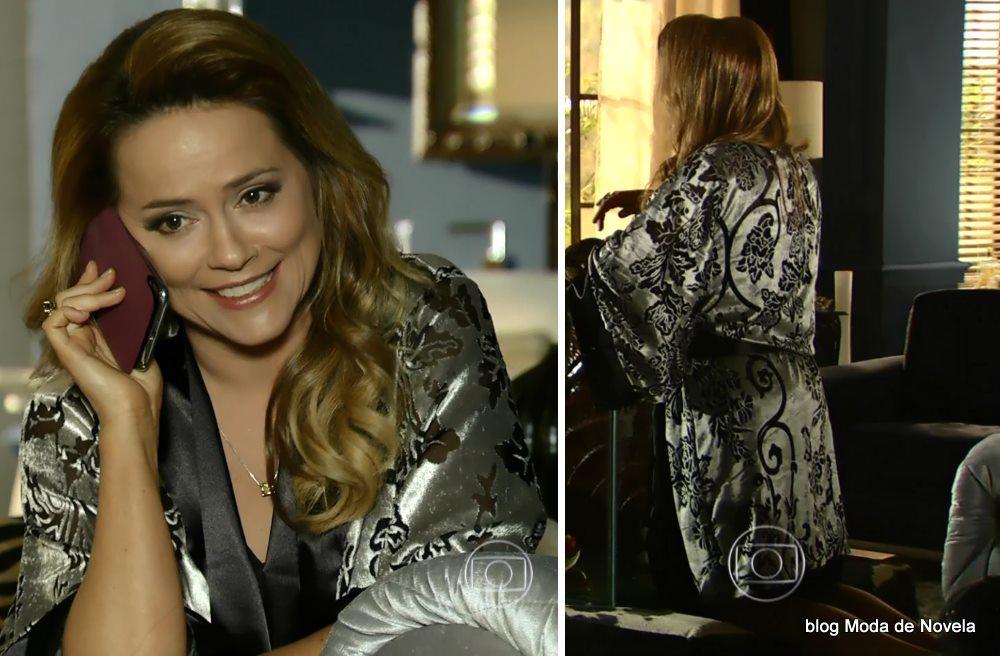 moda da novela Em Família - look da Shirley dia 28 de junho