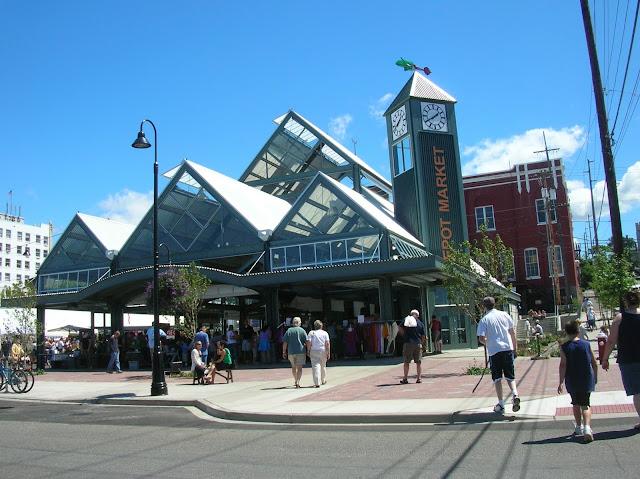 Depot Market Square, home of the Bellingham Farmer's Market.
