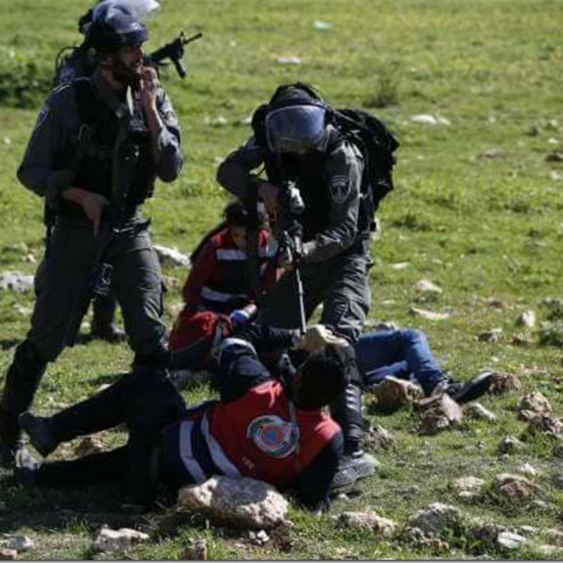VIDEO: Israeli Forces Brutally Attack Palestinian Medics
