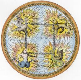 Emblem From Camerarius Symbolorum Et Emblematum 1595, Emblems Related To Alchemy