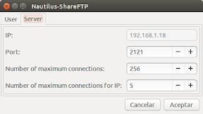 Copiar archivos entre Android y Ubuntu - Configuración 2