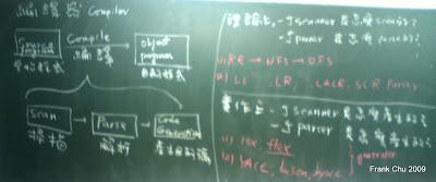 期中考前介紹編譯器的架構,期中考後介紹在理論上一個Scanner如何scan以及一個Parser如何進行parse?在此之前,我們要介紹 scanner及parser的實作:以Lex和YACC產生