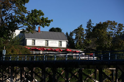Springwater Lodge restaurant on Mayne Island British Columbia Canada