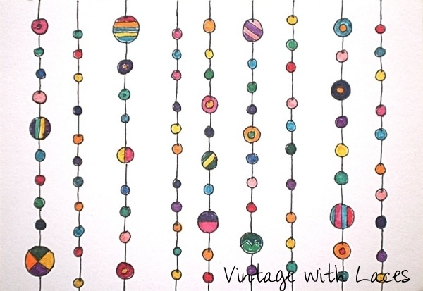 ICAD Doodles by Vintage with Laces