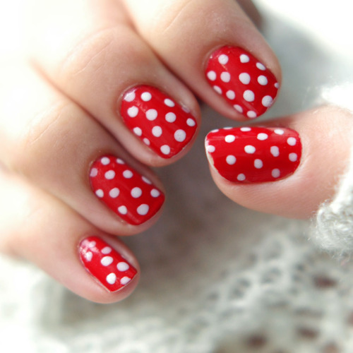 Variety Of Nail Art By Yours Truly: RED NAIL ART DESIGNS FOR 2017 TYPES