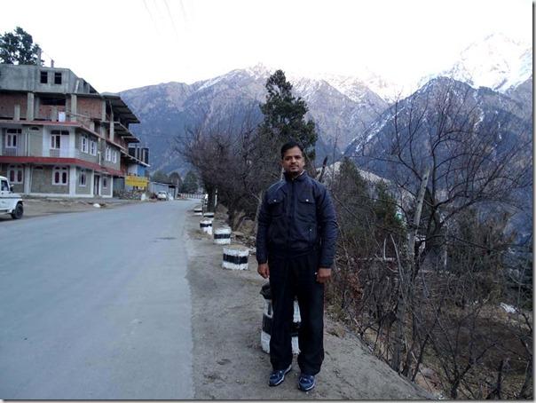 Sumit Sharma at Reckong Peo