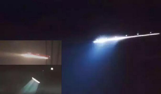 OVNI UFO sobrevoou França, China e Austrália