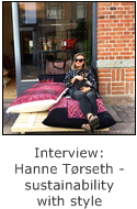 interview with hanne torseth - sustainability with style