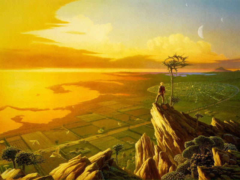 Magick Landscape Of Nightmare 4, Magical Landscapes 3