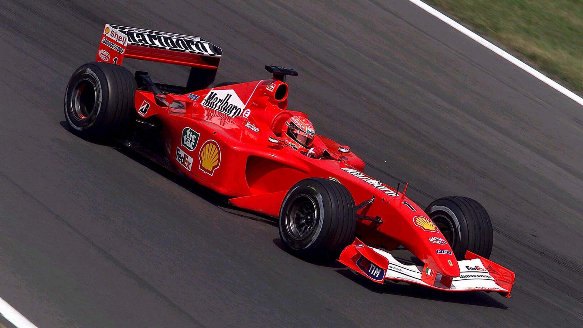 ferrari f2001 michael schumacher - photo #27