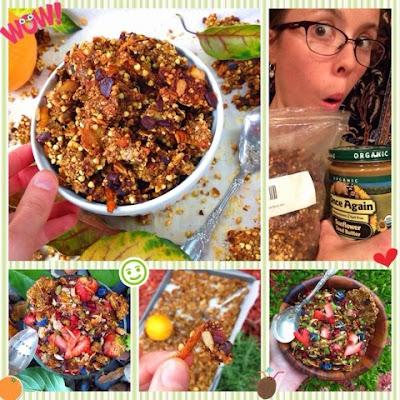 Tropical Turmeric Granola (Gluten Free, Vegan)