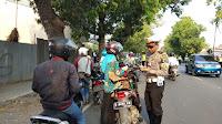 Hari Pertama Operasi Patuh Satlantas Polres Tegal Tindak Ratusan Pelanggar.