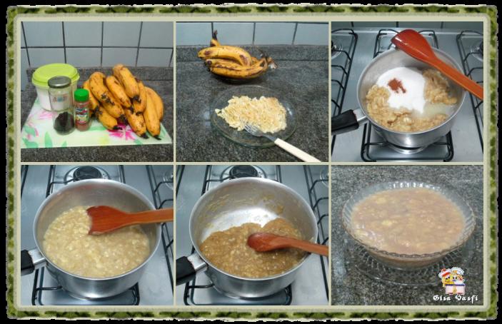 Doces de bananas em pasta 2
