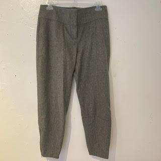 Reed Krakoff Heather Grey Pants
