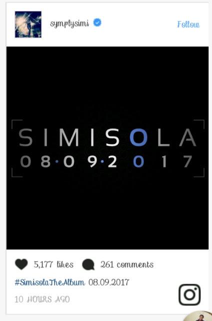Simi Unveils Album Title + Release Date