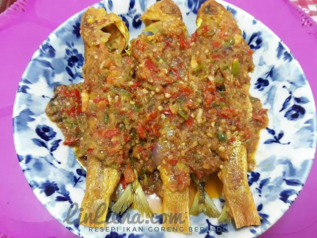 Resepi Ikan Goreng Berlado