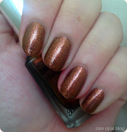 Barry M Autumn/Winter 2016 Superdrug Exclusive Nail Polish Gingerbread