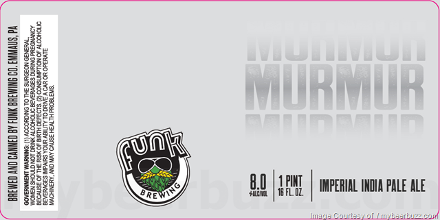 Funk Brewing Adding Blood Orange Squeeshies IPA, Murmur & Mumble IPA 16oz Cans