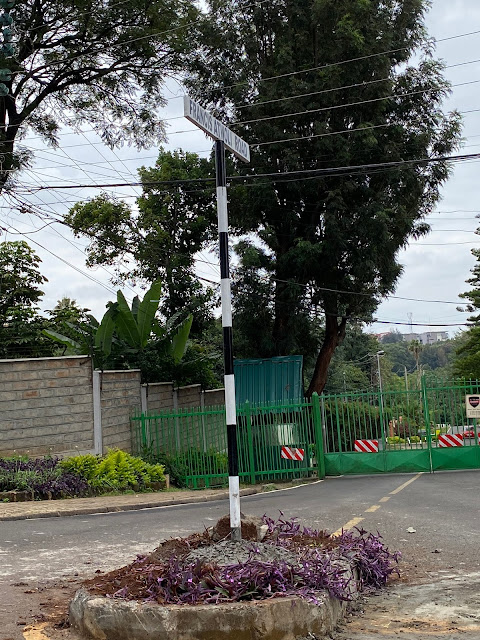 COTU SG Francis Atwoli signpost in Kileleshwa photo