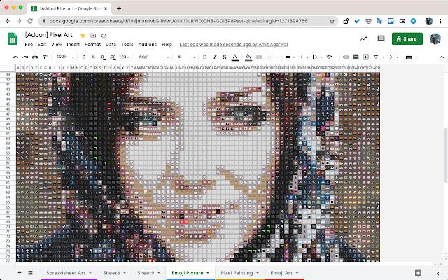 Pixel Art Google Workspace Marketplace