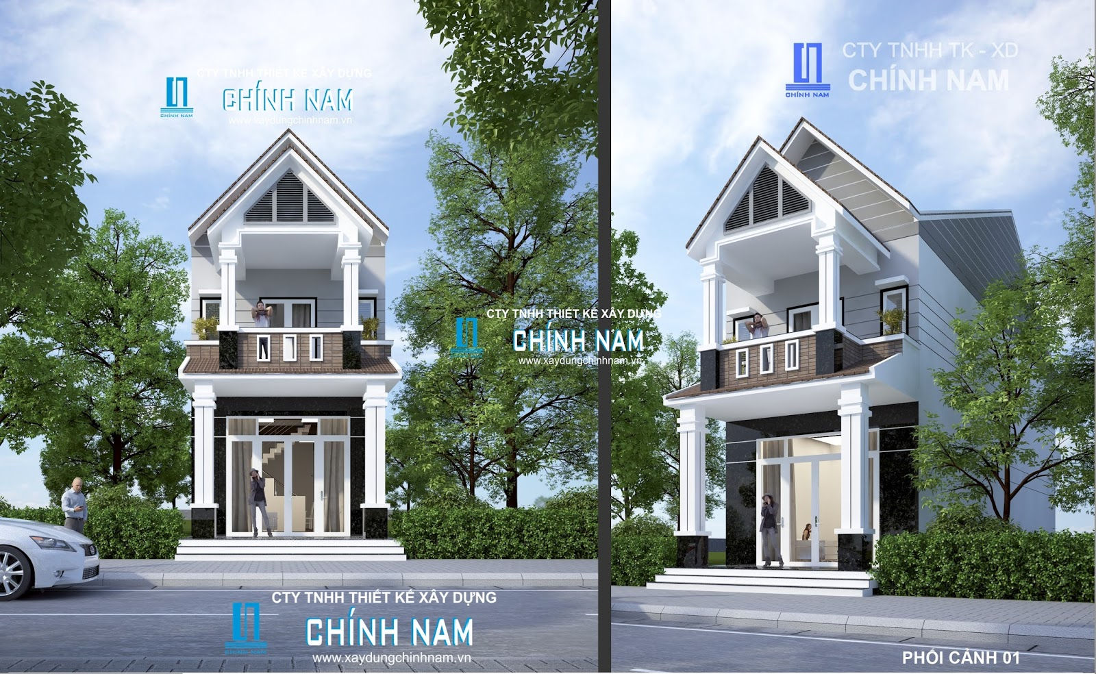 Thiệt kế nhà Ngô Thị Bích Nụ ở Biên Hoà