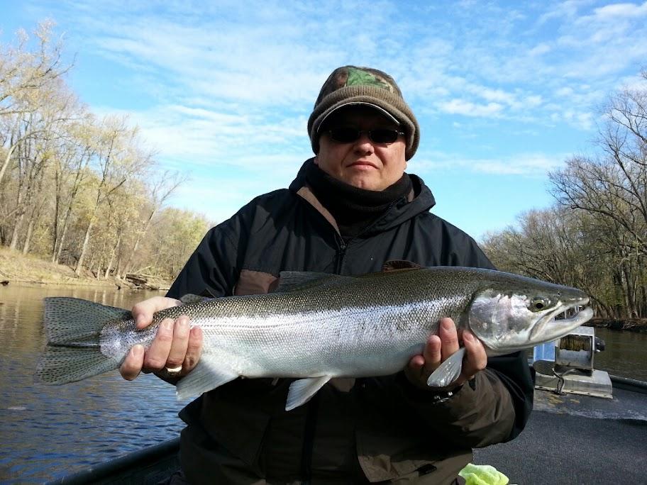 Grand River Guided Steelhead Fishing Charter Trips
