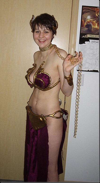 Princess Leia - Golden Bikini Cosplay_865825-0093