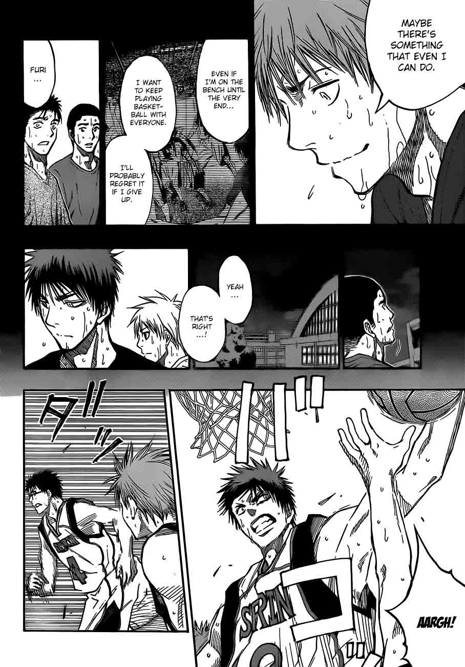 Kuroko no Basket Manga Chapter 187 - Image 16