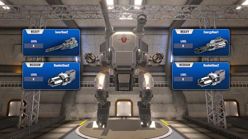 Mech Wars  captures d'écran 3
