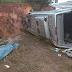 Van capota e mata idosa de 60 anos na BR-222 no Maranhão