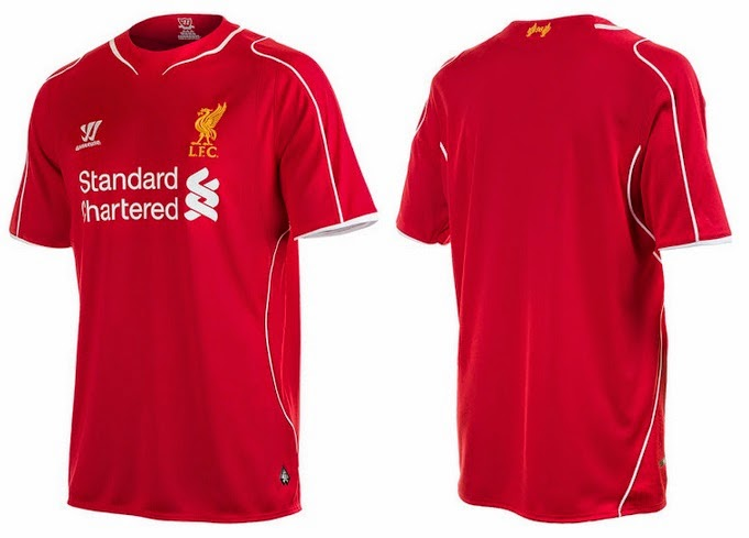 69030220d09 ... kit for 2014-15 season and below are the official pictures of the new  warrior all red kit. While the away yellow and third black kits is also  leaked.