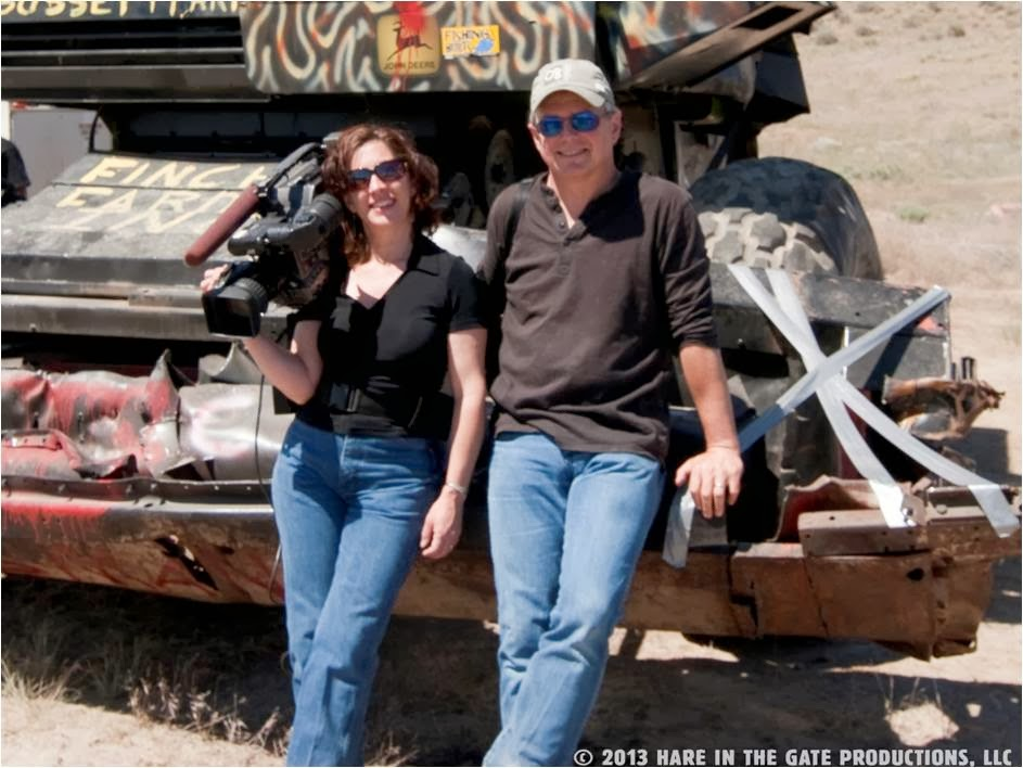 Sue Arbuthnot and Richard Wilhelm, Producers and Directors of the new film Dryland, filmed in eastern Washington over a 10-year period.